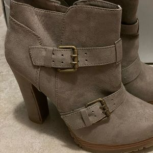 Mossimo Supply Co. Shoes - Taupe Booties